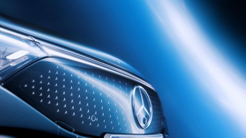 Front Mercedes EQS