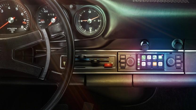 Porsche Classic Communication Management im Porsche 911 F