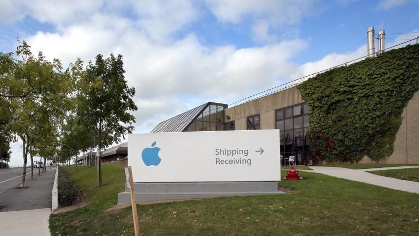 Eine der Apple-Niederlassungen in Irland