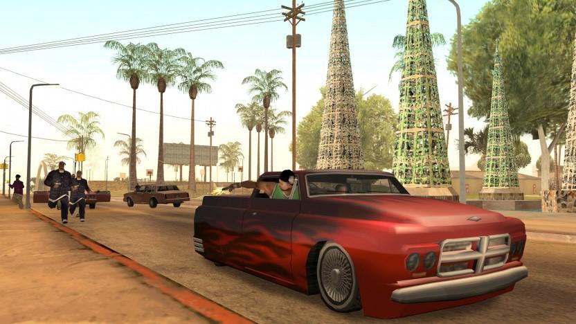 Artwork von GTA San Andreas
