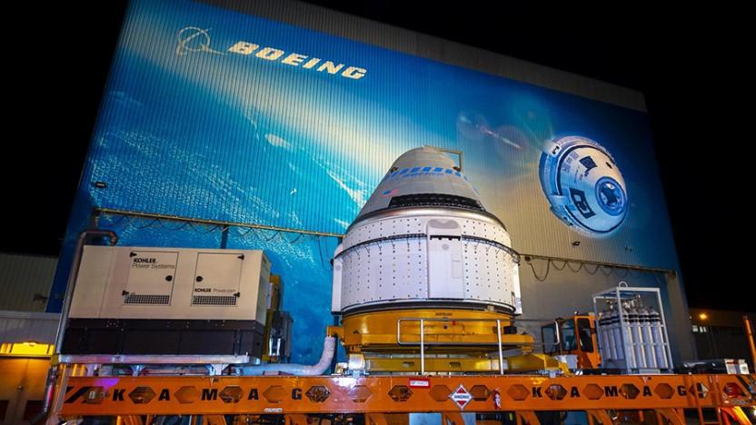 Das Starliner-Raumschiff von Boeing