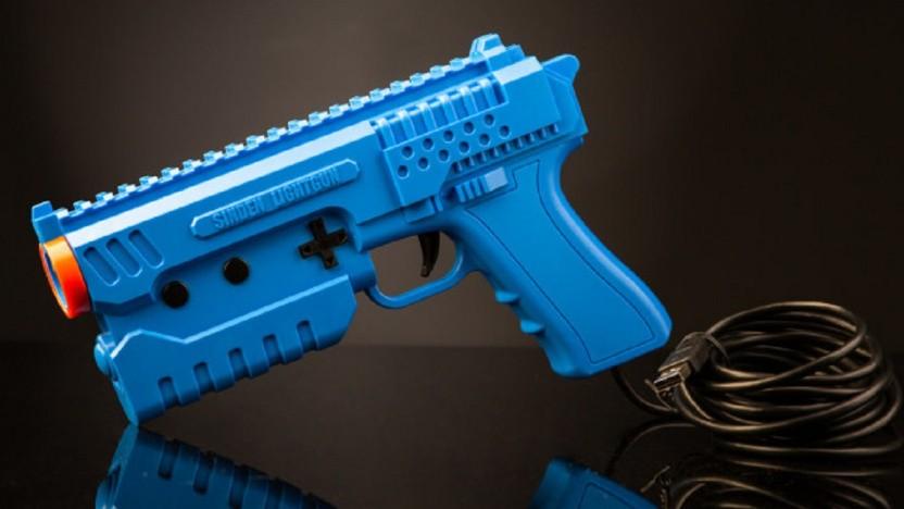 Die Sinden Lightgun hat auch Aktionstasten an der Seite verbaut.