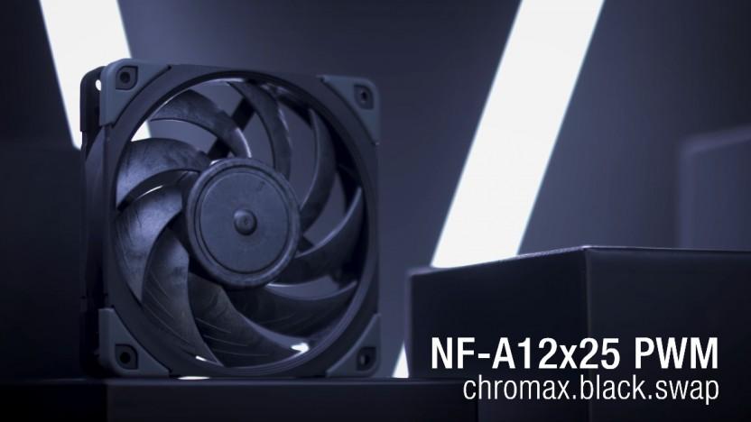 NF-A12x25 Chromax Black