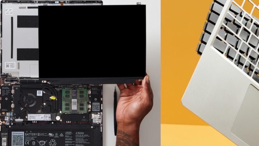 Der Framework Laptop kann einfach auseinandergebaut werden.