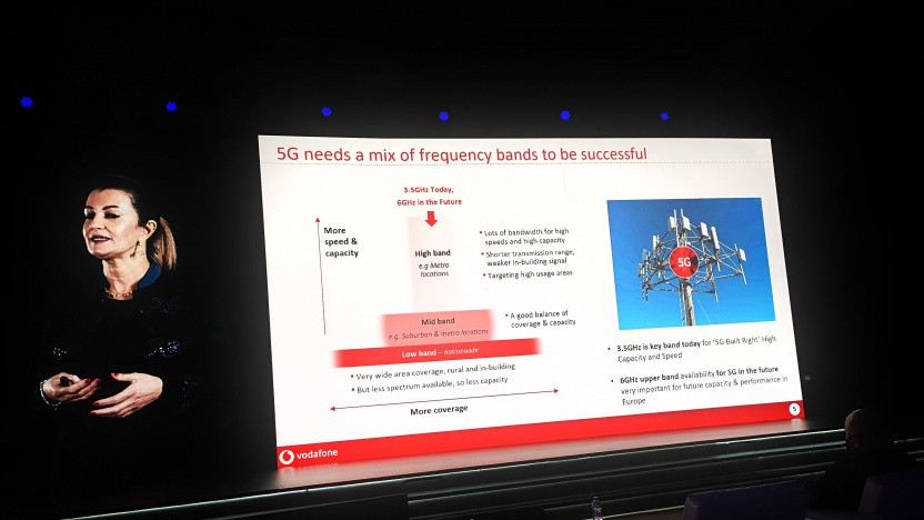 Nadia Benabdallah, Network Strategy and Engineering Director bei Vodafone Group