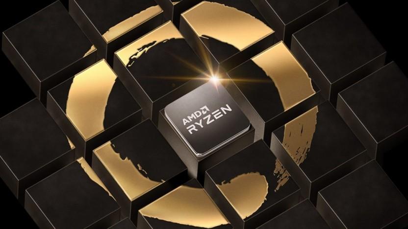 Logo von AMDs Ryzen