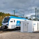 Verkehrswende: Stadtwerke Tübingen stellen Schnellladestation für Züge vor