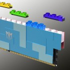 Arbeitsspeicher: Dieses DDR5-Modul ist auch ein Klemmbaustein