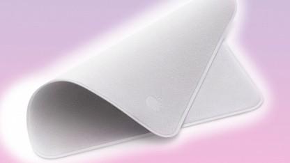 Displayreinigung: Apple bringt 25-Euro-Poliertuch mit Kompatibilitätsliste