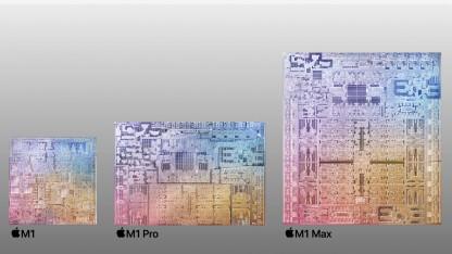 M1 Pro/Max: Dieses Apple Silicon ist gigantisch