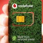 Eco-SIM: Vodafone führt die recycelte SIM-Karte ein