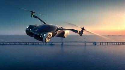 HT Aero: Xpeng stellt fliegendes Auto vor