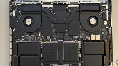 Apple: Kunde zeigt das Innere des Macbook Pro 14 mit M1 Pro