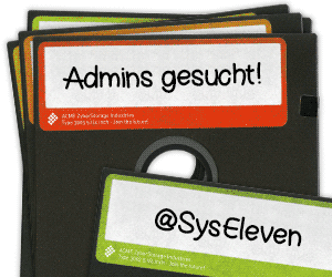 Admins gesucht - Syseleven