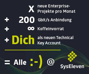 Key Account - Syseleven