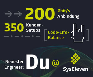 System Engineer Linux - Syseleven