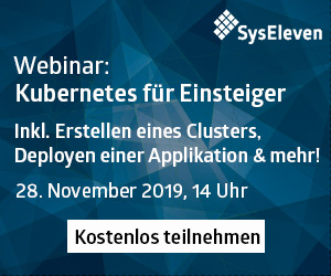 Kubernetes bei Syseleven