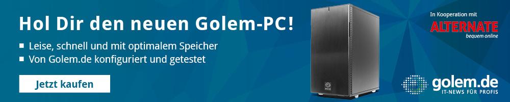 Golem-PCs in der Übersicht