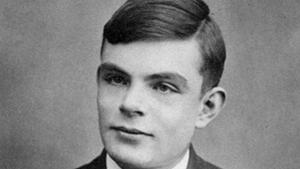 Alan Turing (Bild: Wikimedia Commons), Alan Turing