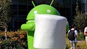 Android-Skulptur mit Marshmallow, Android 6.0 - Marshmallow
