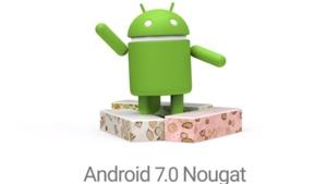 Logo von Android 7.0 alias Nougat, Android 7.0 - Nougat
