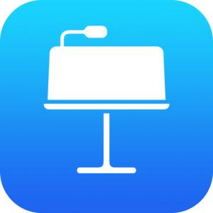 Logo von Keynote (Bild: Apple), Apple Keynote