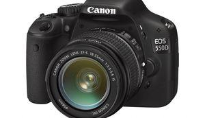 DSLR EOS 500D von Canon (Foto: Canon), Canon EOS 550d