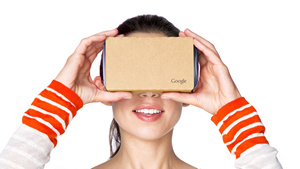 Cardboard (Bild: Google), Cardboard