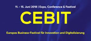 11. - 15. Juni 2018 (Bild: Cebit.de), Cebit 2018