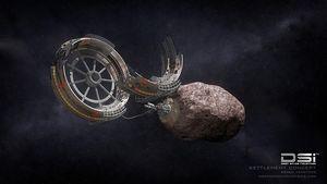Deep Space Industries: Rohstoffe werden im All per 3D-Druck verarbeitet (Bild: Bryan Versteeg/ Deep Space Industries), Deep Space Industries