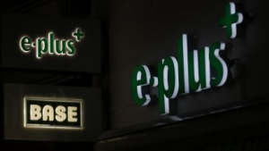 Logos von E-Plus (Bild: Wolfgang Rattay/Reuters), E-Plus