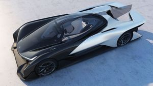 Faraday Future FF Zero 01: modulares Chassis-Konzept (Foto: Faraday Future), Faraday Future