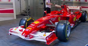 Formel-1-Rennwagen von Ferrari: Bei einem Sieg läuten in Maranello die Kirchenglocken (Foto: Werner Pluta/Golem.de), Ferrari