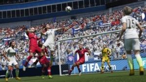 Seit Fifa 16 gibt es auch Frauenfußball. (Bild: Electronic Arts), Fifa