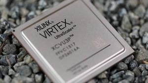 Ein Virtex Ultrascale Plus (Bild: Xilinx), FPGA