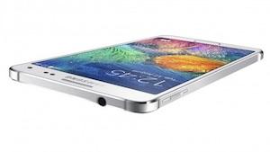 Das Samsung Galaxy Alpha (Bild: Samsung), Samsung Galaxy Alpha