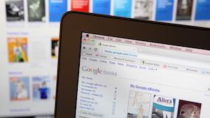 Google Books ist nicht unumstritten. (Bild: Justin Sullivan/Getty Images), Google Books