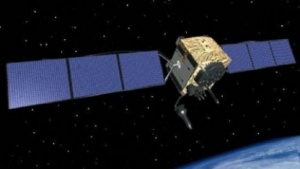 GPS-Satellit (Bild: US Air Force), GPS - Global Positioning System
