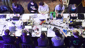 Hackertreffen in Hamburg (Foto: Patrick Lux/Getty Images), Hacker