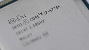 Ein Core i7-4770K (Bild: Marc Sauter/Golem.de, Intel Haswell