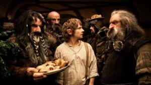 Szene aus Der Hobbit: Eine unerwartete Reise (Bild: Warner Brothers Pictures), Der Hobbit