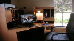 Im Home-Office wird oft eigene Hardware verwendet., Homeoffice