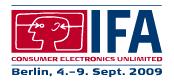 Ifa - Internationale Funkausstellung 2009