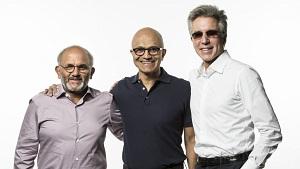 Adobe-CEO, Microsoft-CEO und SAP-CEO treten auf., Ignite 2018