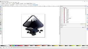 Inkscape Screenshot (Bild: Microsoft), Inkscape