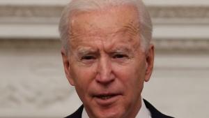 Joe Biden nach seiner Amtseinführung, Joe Biden
