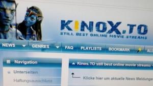 Screenshot von kinox.to, Kino.to - Kinox.to