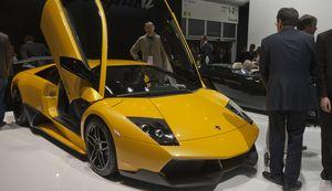 Sportwagen von Lamborghini: Militärfahrzeuge zu Traktoren umgebaut (Foto: Werner Pluta/Golem.de), Lamborghini