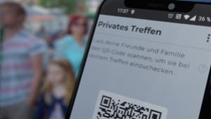 Die Luca-App soll die Kontaktnachverfolgung erleichtern., Luca-App