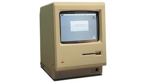 Erster Mac von 1984 (Bild: Grm wnr/Wikimedia), Mac